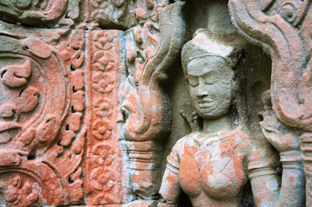 Ambrosial - taken from the walls of Angkor temples in Cambodia.